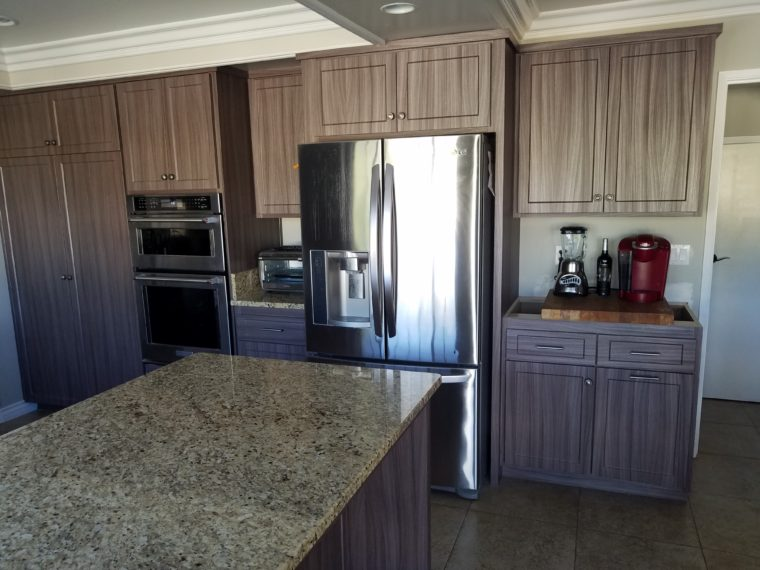 Kitchen Cabinet Reface in Mission Viejo, CA; Refacing ...
