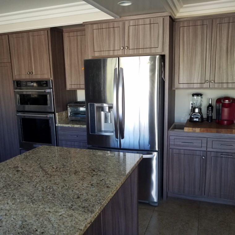 Kitchen Cabinet Reface in Mission Viejo, CA; Refacing Cabinets